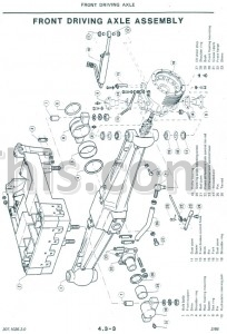 Same Laser 90 100 110 130 150 170 Repair Manual [Tractor