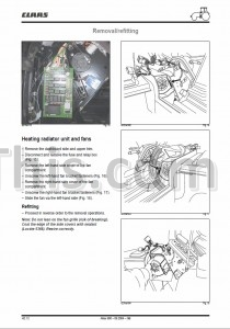 Claas Renault Atles 926 936 Repair Manual [Tractor