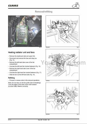 Claas Renault Atles 926 936 Repair Manual [Tractor