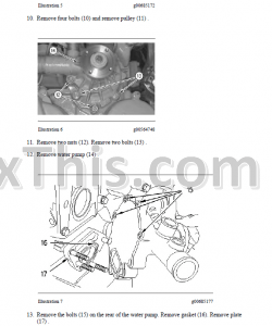 Caterpillar 247B 257B Repair Manual SLK MTL 3024C Engine