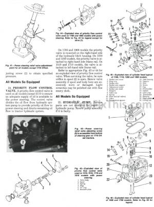 Ford 1100 – 2110 1500 Repair Manuals Set [Tractor
