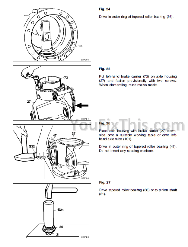 Fiat Kobelco W50 W60 W70 Repair Manual [Wheel Excavator