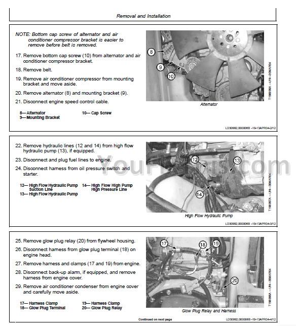 john deere 320 drive belt diagram 1983 ford f100 wiring 317 ct322 repair manual [skid steer & compact track loaders] « youfixthis