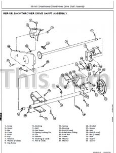 John Deere F510 F525 Repair Manual [Front Mower] « YouFixThis