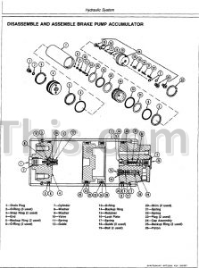 John Deere 444D 544D 644D Repair Manual [Wheel Loader