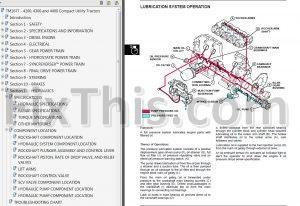 John Deere 4200 4300 4400 Repair Manual [Compact Utility