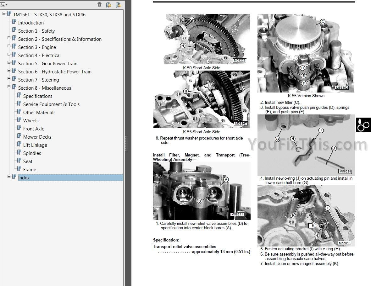 stx38 wiring diagram pdf 2 pole definite purpose contactor john deere stx46 manual best deer photos water alliance org