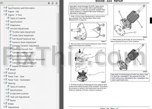 John Deere LA130 LA140 LA150 Repair Manual [Lawn Garden