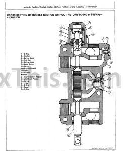 John Deere 410B 410C 510B 510C Repair Manual [Backhoe