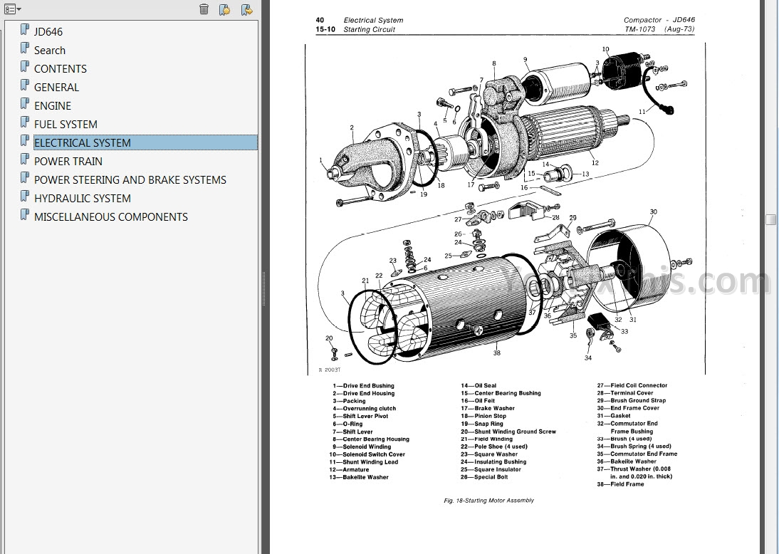 John Deere JD646 Repair Manual [Compactor] « YouFixThis