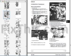 John Deere LX172 LX173 LX176 LX178 LX186 LX188 Repair