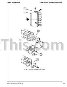 Ingersoll Rand , Bobcat WL350, WL440 Operators and