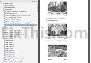 Caterpillar 320C & 320CL Repair Manual [Excavator] ANB
