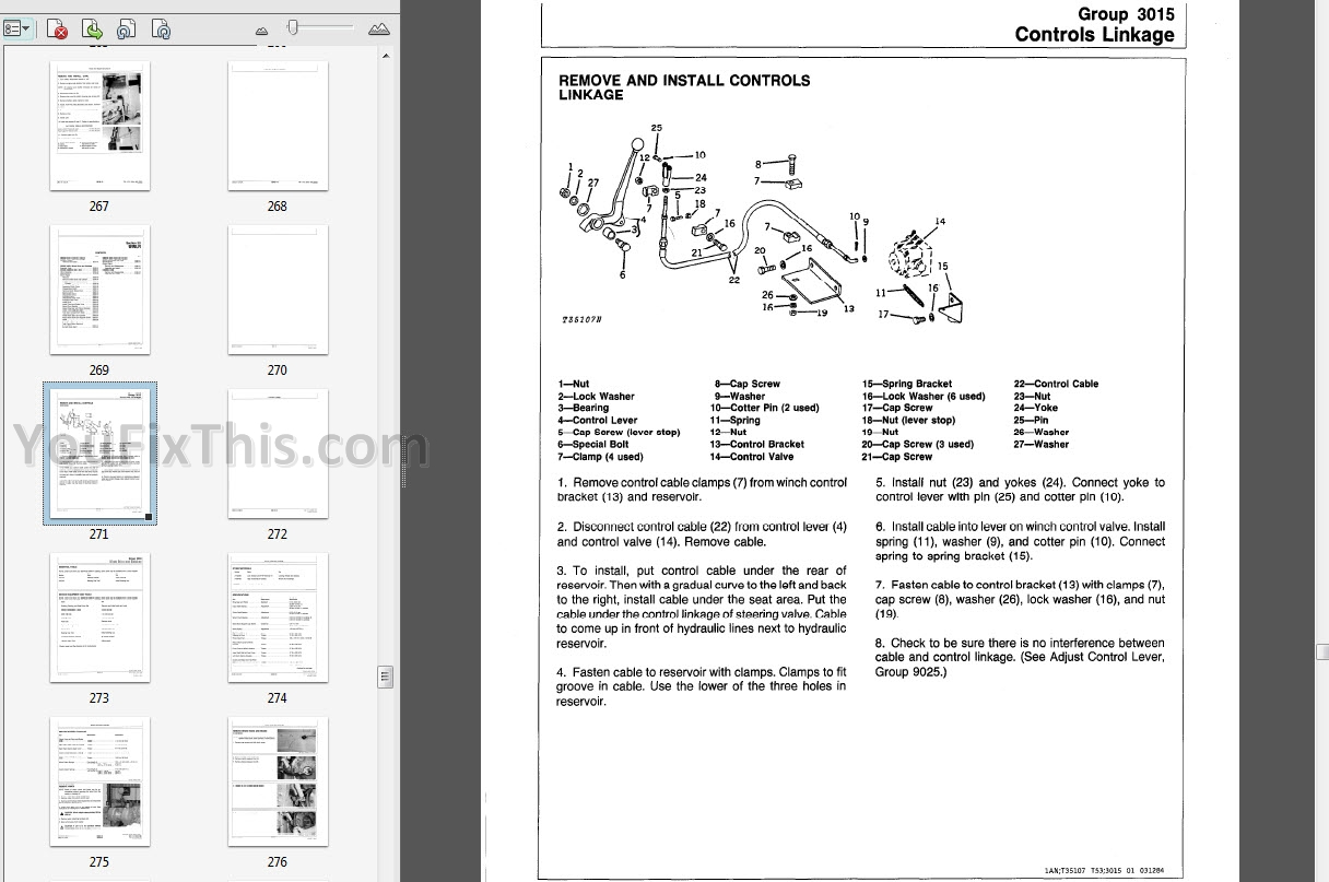 John Deere 400g Repair Manual Crawler Bulldozer Youfixthis