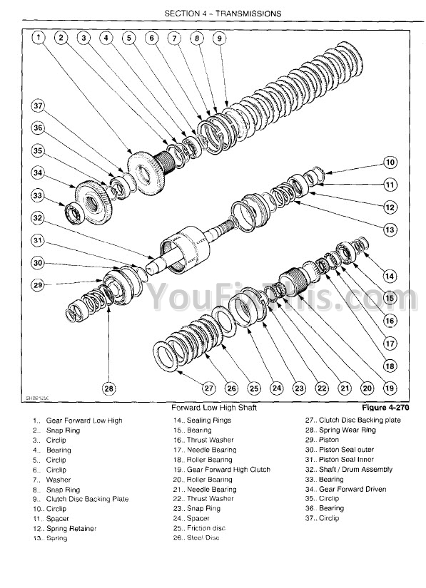 New Holland TT60A TT75A Repair Manual [Tractor] « YouFixThis
