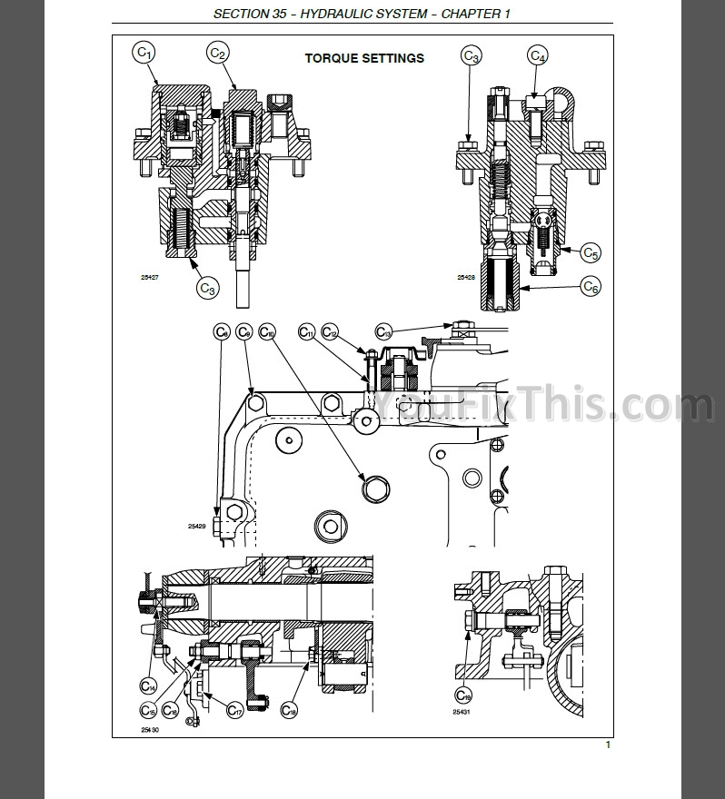 New Holland TL80A TL90A TL100A Service Manual [Tractor