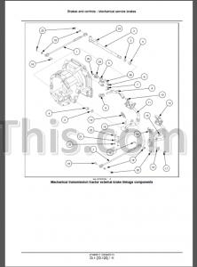 New Holland Workmaster 35 40 Repair Manual [Tractor