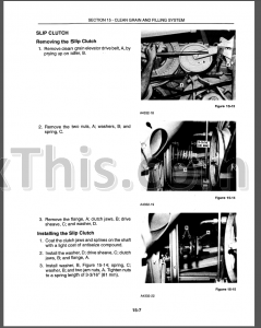 New Holland TR86 TR87 TR88 Repair Manual [Combine