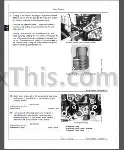 John Deere POWERTECH 2.4L & 3.0L Diesel Engines Repair and