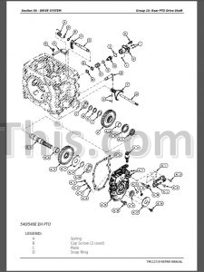 John Deere 5083E 5093E 5101E Repair Manual [Tractor