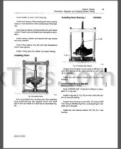 John Deere 450D 455D Repair Manual [Crawler Bulldozer