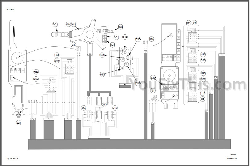 Case 1188 Manual Schematic Set [Excavator] « YouFixThis