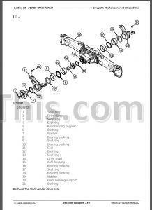 John Deere 5415 5615 5715 Service Repair Manual [Tractors