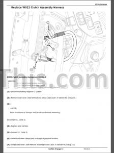 John Deere 5085E 5090E 5090EL 5100E (FT4) Repair Manual