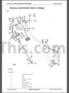 John Deere 6105D 6115D 6130D 6140D Repair Manual [Tractors