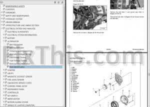 Bobcat E50 Repair Manual [Compact Excavator] 6990724