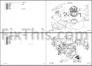Takeuchi TB045 Parts Manual [Excavator] « YouFixThis