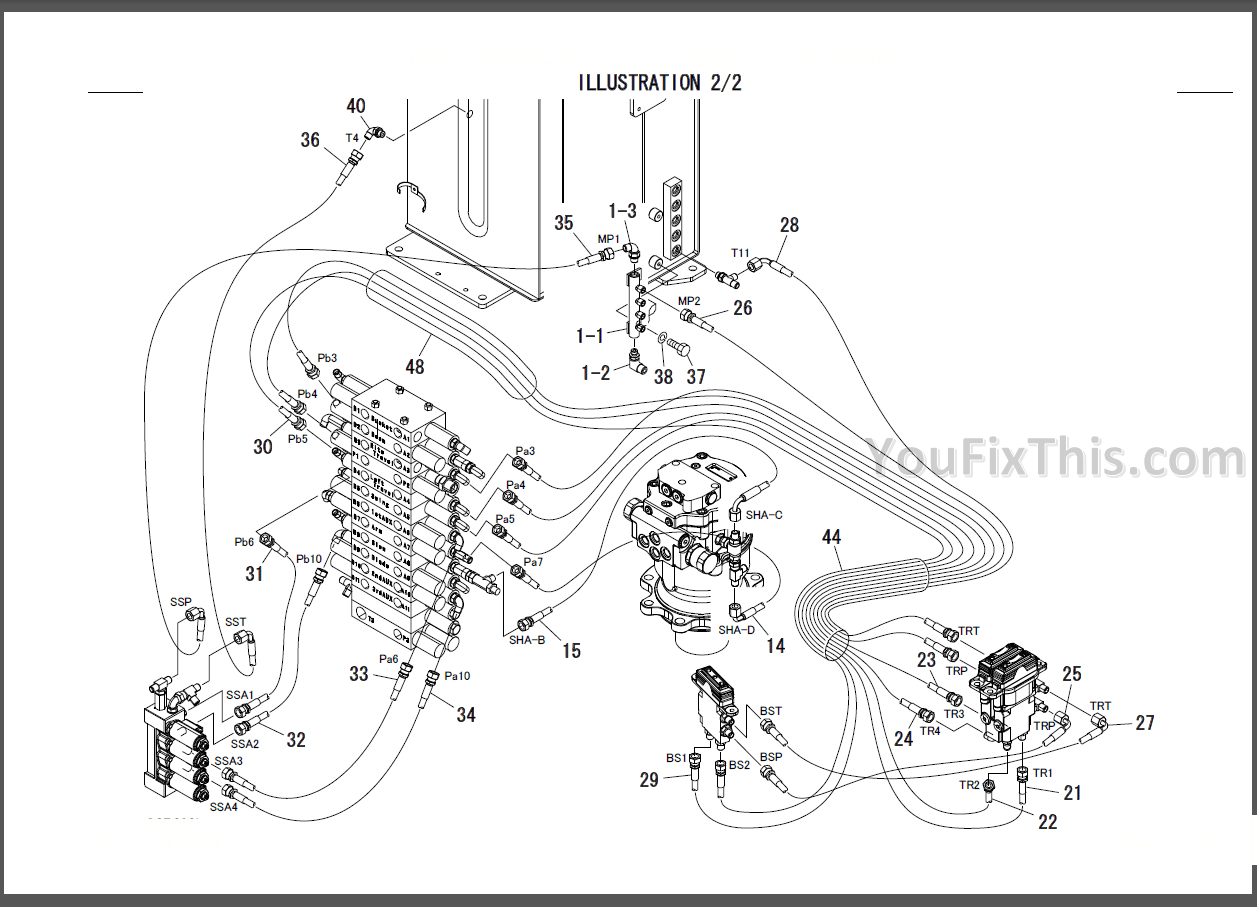 Takeuchi TB135 Parts Manual [Excavator Engine] « YouFixThis