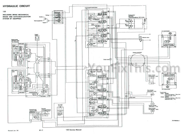 Bobcat 130 Service Repair Manual [Hydraulic Excavator
