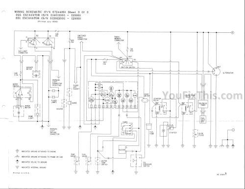 small resolution of bobcat engine schematic