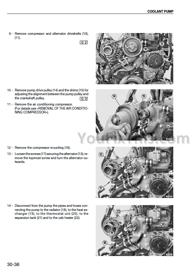 Same Rubin 160 180 200 Repair Manual [Tractor]