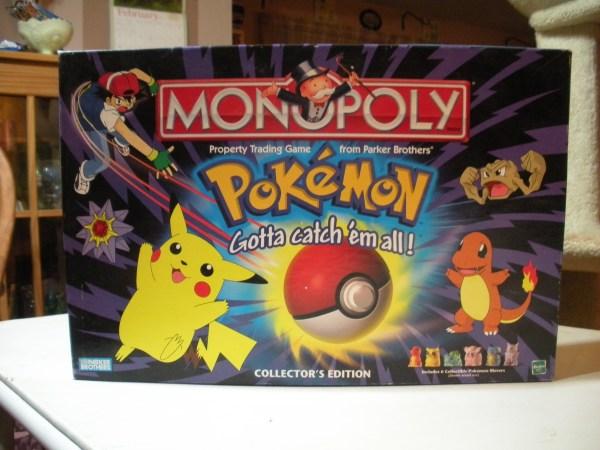 Pokemon Monopoly Game