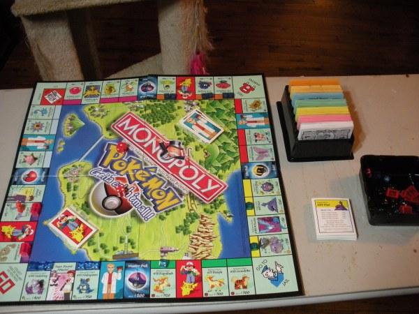 Monopoly Pokemon Board Game