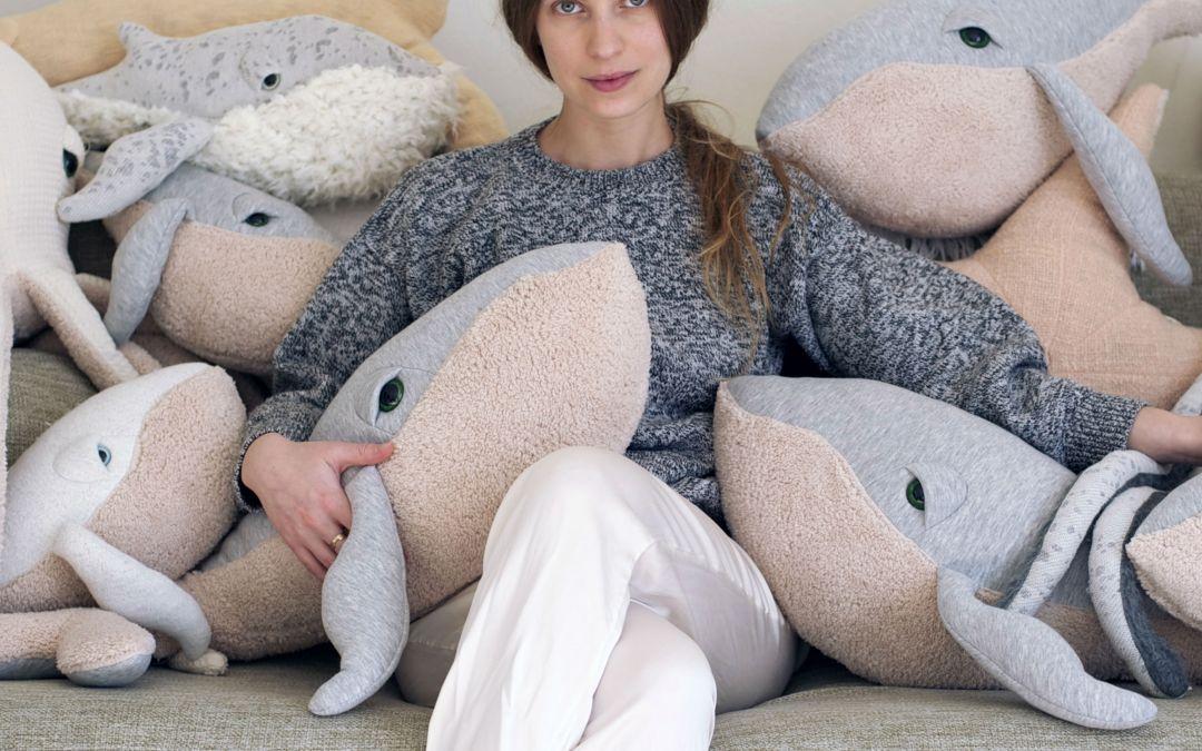 [PELUCHES] @BigStuffed par Dana Muskat : «J'ai d'abord fabriqué un cadeau de naissance à ma nièce»