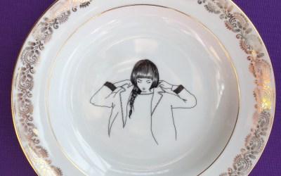 PoMMettes nouvelle vaisselle vintage, par Alice et Delphine