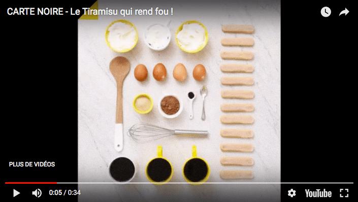 [CARTE NOIRE] Stop motion «Le tiramisu qui rend fou» par @MaïaChä