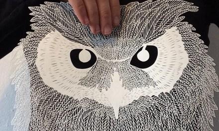 [#INSTAART] Brave Bird Paperwork par Maude White @maude_alta