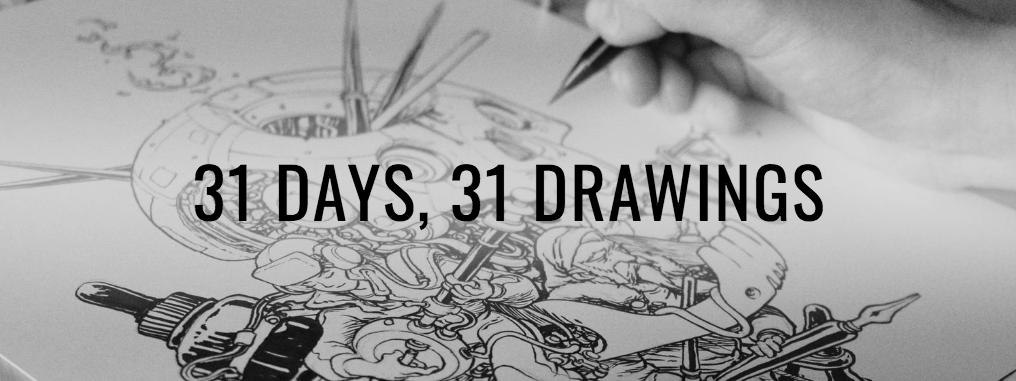 #Inktober : mes 10 dessins préférés de ce défi artistique sur Instagram