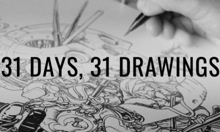 INKTOBER : le défi créatif à l'encre de chine (mais pas que) sur Instagram