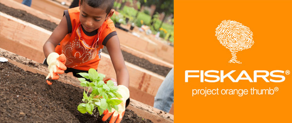 Fiskars Project Orange Thumb is Offering Community Garden Grants