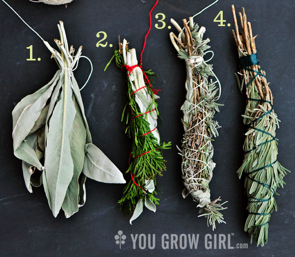 You Grow Girl - Gifts from the Garden: Homegrown Herb Bundles
