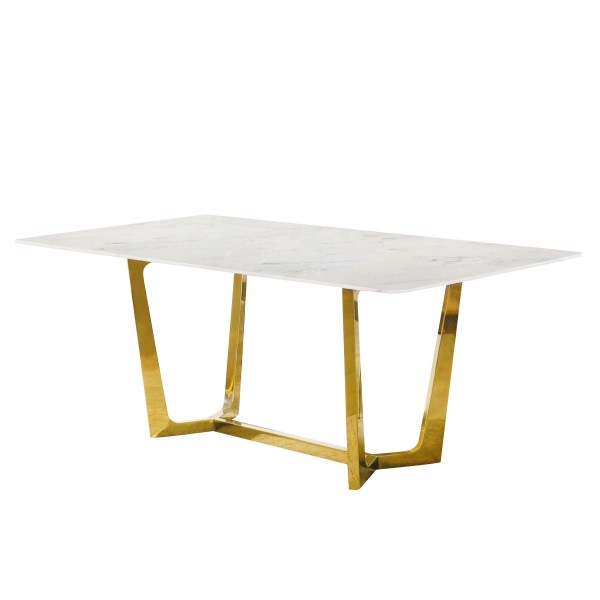 Nilsina Marble Dining Table