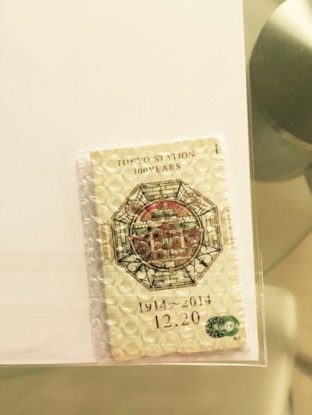 東京駅開業 100周年記念Suica