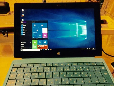 Windows10 surface Pro2