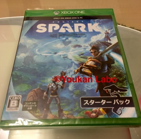 xbox one ソフト SPARK