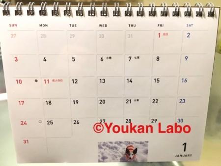 ほぼ日カレンダー2016 気まぐれカレンダー
